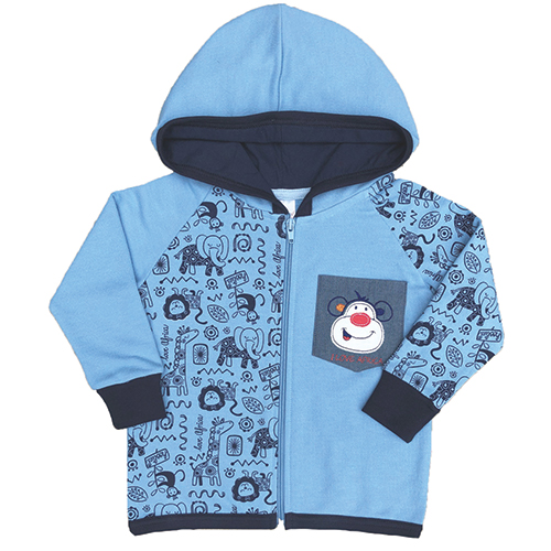 Monkey Love Jacket - Hoolies Kids-3715
