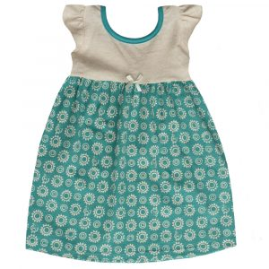BBYB - Teal Oatmeal Dress