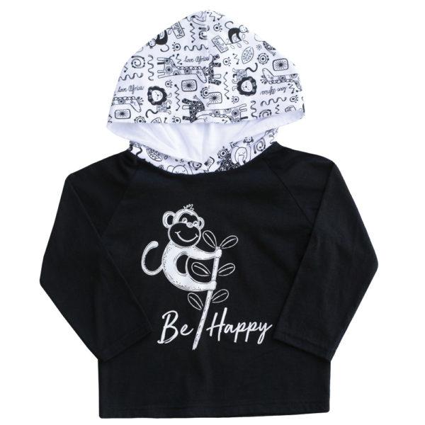 Be Happy LS Hoodie