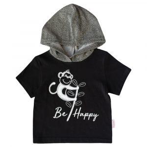 BBHT-H1 - Be Happy Hoodie SS