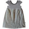 B1BG - BB Black & Grey Stripe Safari Dress