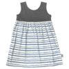 B1CB - BB Charcoal Blue SS Safari Dress
