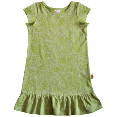 B1FP - BB Forest Print Princess Dress
