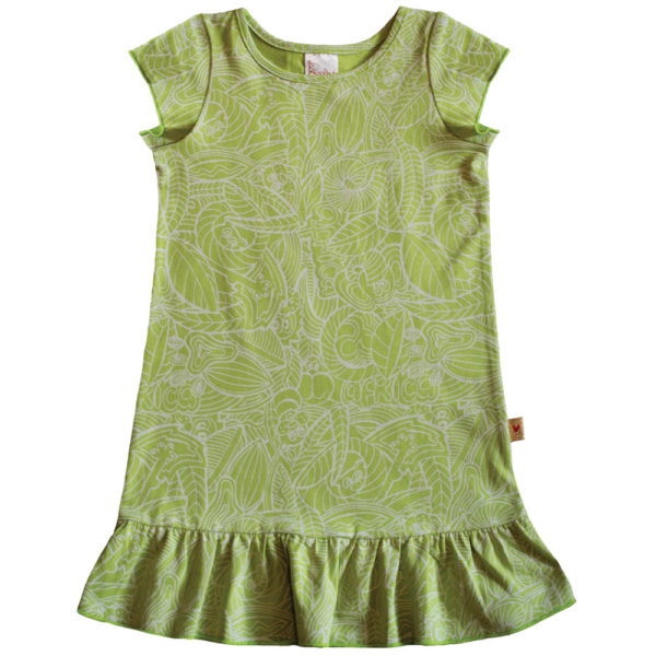 B1FP - BB Forest Print Princess Dress