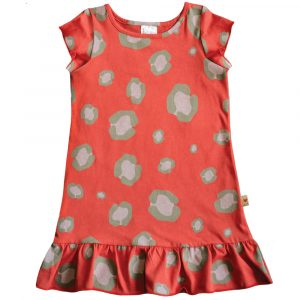 B1OL - BB Orange Leopard Princess Dress