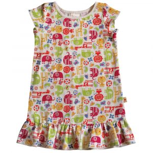 B1SP - BB Safari Print Princess Dress
