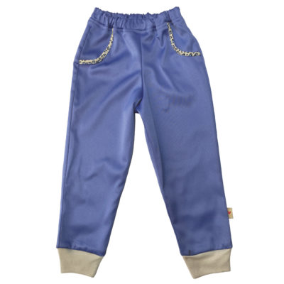 BBTP- Blue Leopard Bling Pants