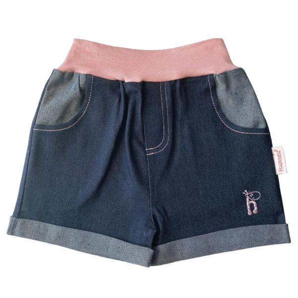 HJGGS Girls Denim Shorts Pink