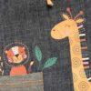 CLDL1 - Denim Lurex Giraffe Set upgraded TOP Zoom1